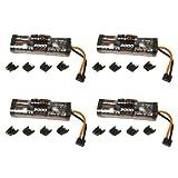 Bias 8.4V 3000mAh NiMH Battery Hump - UNI Plug EC3/Deans/Traxxas/Tamiya