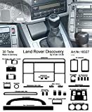 Prewoodec Cockpit Dekor f�r Landrover Discovery SALLJG 01.90 bis 01.99 Aluminium (Exklusive 3D Fahrzeug-Ausstattung - Made in Germany)