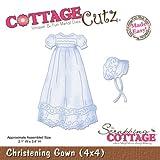 CottageCutz Die 4X4 Christening Gown Made Easy