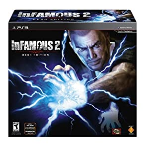 inFamous 2 Hero Edition Video Game for Playstation 3