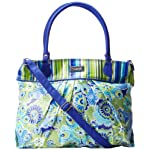 Hadaki Coated Cool Travel Tote,Jazz Cobalt,One Size