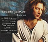 Bon Jovi LIE TO ME CD UK MERCURY 1995