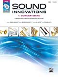 Sound Innovations for Concert Band, Bk 1: A Revolutionary Method for Beginning Musicians (Oboe) (Book, CD & DVD)