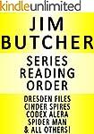 JIM BUTCHER - SERIES READING ORDER (S...
