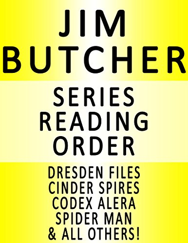 JIM BUTCHER - SERIES READING ORDER (SERIES LIST) - IN ORDER: DRESDEN FILES, CODEX ALERA, CINDER SPIRES & MANY MORE! (Jim Butcher Cinder Spires compare prices)