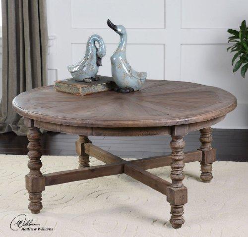 Uttermost Samuelle Reclaimed Fir Wood Coffee Table