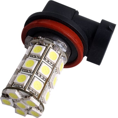 2 H11 27 SMD LED White Car Vehicle Fog Light Lamp Bulb 12V