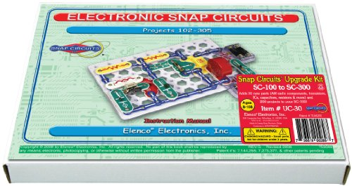 Elenco Snap Circuits Uc-30 Upgrade Kit Sc-100 To Sc-300