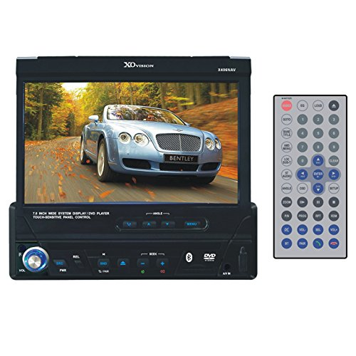 XO Vision X406NAV 7-Inch In-Dash Touch Screen DVD Player with Navigation System (2012 Chevy Cruze Navigation compare prices)