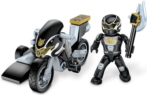Power Rangers Megaforce Black Ranger Hero Racer - 1