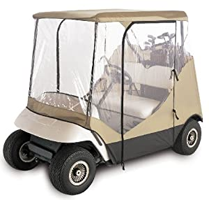 Classic Accessories Fairway Travel 4-sided Golf Car Enclosure (Fits most two-person golf cars) by Classic Accessories
