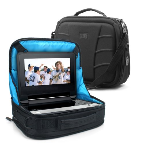 In-Car Portable Dvd Player / Notebook Travel Display Case - Attaches To Rear Or Front Seat And Works For 7-Inch To 10-Inch Models