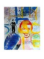 Legendarte Pintura al Óleo sobre Lienzo Graffiti Senza Riferimento Temporale