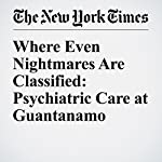 Where Even Nightmares Are Classified: Psychiatric Care at Guantanamo | Sheri Fink