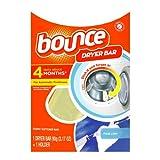 Bounce Fabric Softener Dryer Bar 4 Month-fresh Linen Plastic Clamshell (Pack of 2)