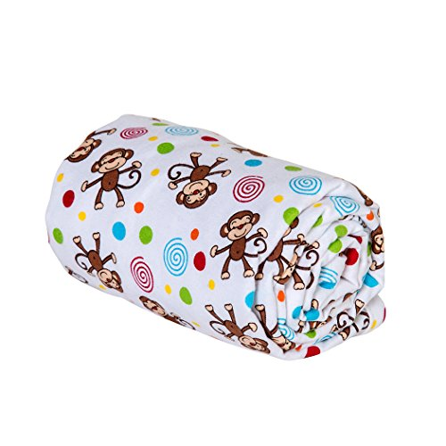 Trend Lab Swaddle Blanket, Monkey