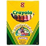 Binney & Smith Crayola(R) Multicultural Crayons, Assorted Specialty Colors, Box Of 8