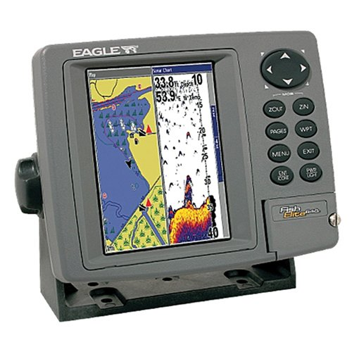 Eagle fishelite 642c igps 5 inch waterproof marine gps and for Best rated fish finder