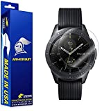 ArmorSuit Galaxy Watch (46mm) Screen Protector(2 Pack) Full Coverage MilitaryShield Screen Protector for Samsung Galaxy Watch (46mm) - HD Clear Anti-Bubble