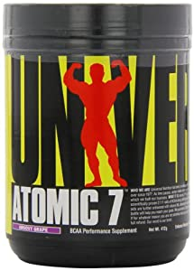 Universal Nutrition Atomic 7, Groovy Grape, 412-Grams