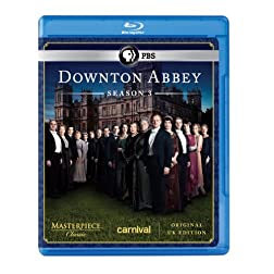 Masterpiece Classic: Downton Abbey Season 3 [Blu-ray] (Original U.K. Version)