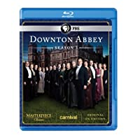 Masterpiece Classic Downton Abbey Season 3 Blu-ray Original Uk Version from Pbs (Direct)