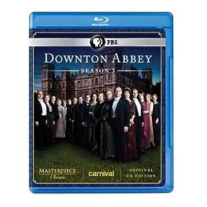 Masterpiece Classic Downton Abbey Season 3 Blu-ray Original Uk Version by Pbs (Direct)