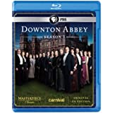 Masterpiece: Downton Abbey Season 3 (U.K. Edition) [Blu-ray]