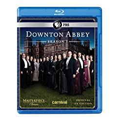 Downton Abbey: Season 3 (Original UK Edition) [Blu-ray]