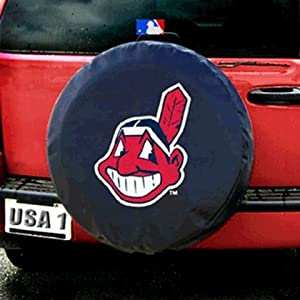 MLB Cleveland Indians Tire Cover by Fremont Die