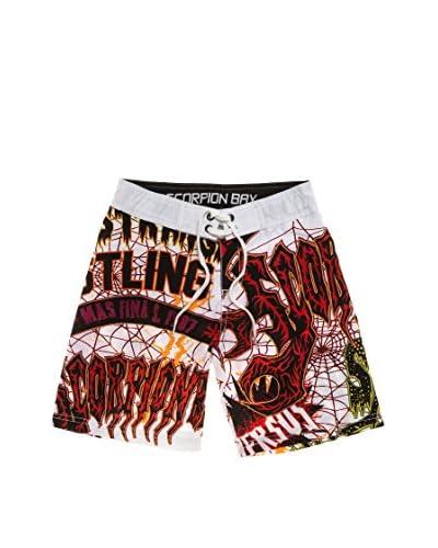 Scorpion Bay Shorts da Bagno Jsb [Bianco/Nero]