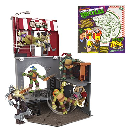 Teenage Mutant Ninja Turtles Pop-Up Pizza Anchovy Alley Playset (Ninja Turtles Pizza Box compare prices)