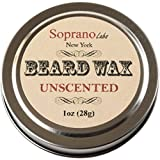 Unscented Beard Wax. Luxury Beard Conditioner. Organic Almond, Virgin Coconut and Vit E Oils, Cocoa, Coffee, Shea Butters.
