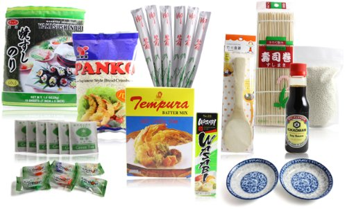 The Ultimate Sushi Maker Master Sushi Kit Gift Box (Make Your Own Sushi Kit compare prices)