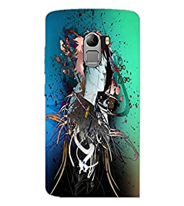 PrintDhaba Abstract Image D-4445 Back Case Cover for LENOVO VIBE X3 LITE (Multi-Coloured)