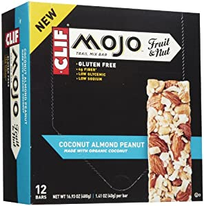 Clif Trail Mix Bar Coconut Almond Peanut 12 - 1.41 oz. (40g) Bars