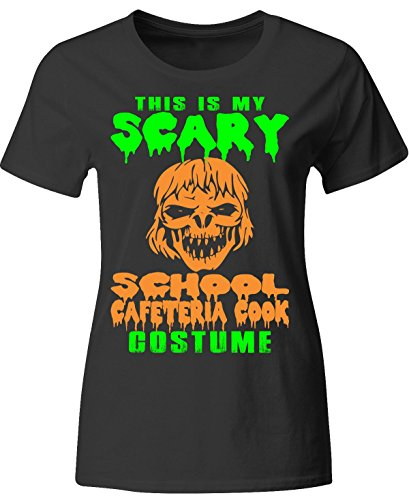 This Is My Scary School Cafeteria Cook Costume Halloween - Ladies T-shirt (2)