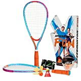 Speedminton SM01-FUN-10  FUN Set - Alternative to beach ball, spike ball, badminton, incl. 1 HELI and one FUN Speeder, perfect for the beach, park or backyard