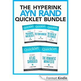 The Ultimate Ayn Rand Quicklet Bundle (Atlas Shrugged, The Fountainhead, The Virtue of Selfishness, and More!) (English Edition)