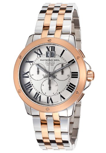 Raymond Weil 4891-SP5-00660 mm Steel Bracelet & Case Anti-Reflective Sapphire Men's Watch