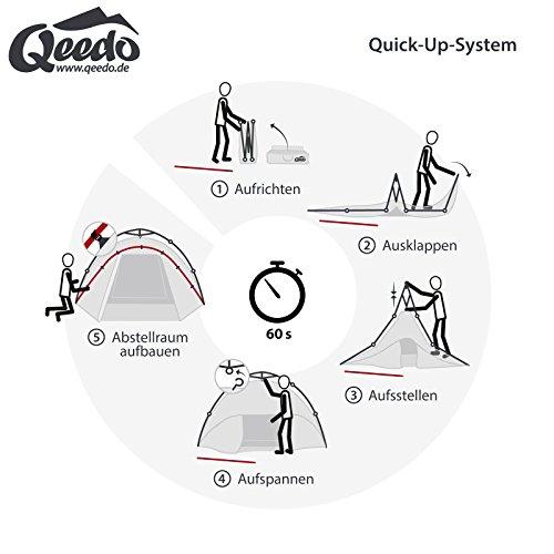 Qeedo Quick Pine 3 Campingzelt - 4