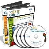 Adobe Dreamweaver CS4 Tutorial and Flash CS4 Training Course on 4 DVDs