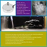 Super High Output 12 Head Pond Fogger by Fountain Emporium MM012 (Color: Silver)