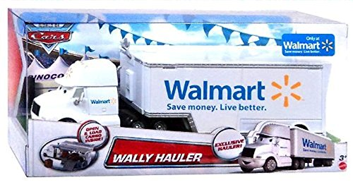 Disney/Pixar Cars, Exclusive Die-Cast Vehicle, Wally Hauler, 1:55 Scale (Toy Walmart Truck compare prices)