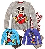 Boys Disney Mickey Mouse Pyjamas Kids Pyjama Set New Nightwear Pjs 3 4 6 8 Years