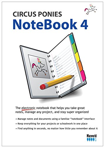 Circus Ponies Notebook 4 [Download]