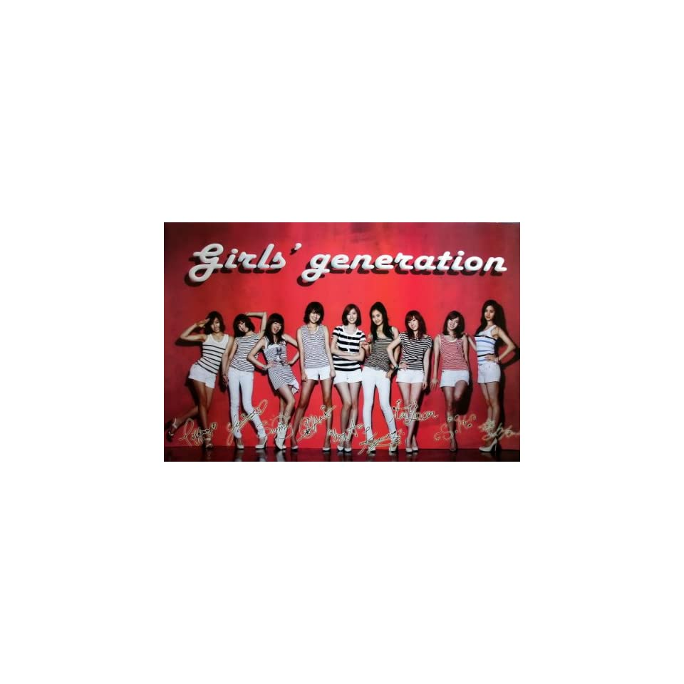 J 1851 Snsd Girl Generation Korean Girl Group Pop Dance Wall Decoration Poster Size 35x23.5