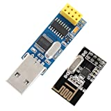 Alicenter(TM) CH340T USB to Serial Port Adapter Board + 2.4G NRF24L01 Wireless Module