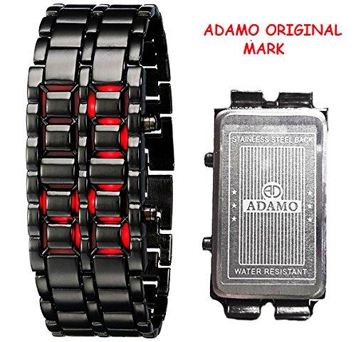 buy adamo led digital red dial men s watch adled r online at low buy adamo led digital red dial men s watch adled r online at low prices in amazon in