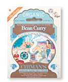 Chimans Organic Bean Curry Authentic Indian Spice Blend 1x28g